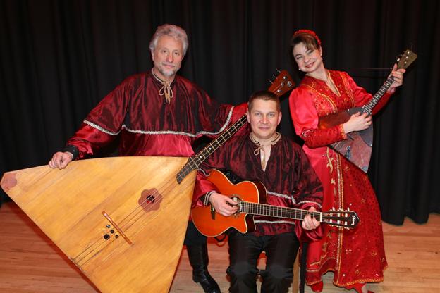 Balalaika Trio Barynya